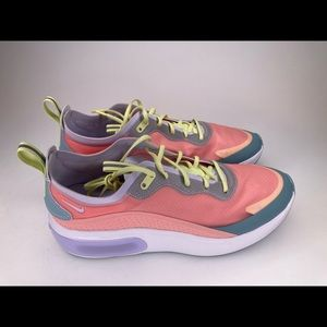 Nike Air Max Dia SE Purple Coral Yellow White